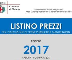 AGGIORNAMENTO : Listino Opere Edili Milano 2017