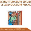 Aggiornata (14 giugno) la Guida Ristrutturazione Edilizie 2017