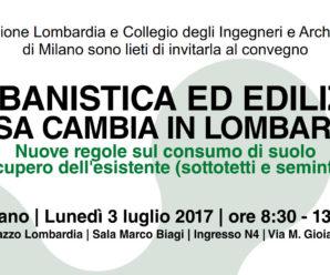Urbanistica ed edilizia, cosa cambia in Lombardia