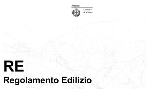 Regolamento Edilizio del Comune di Milano (2016)